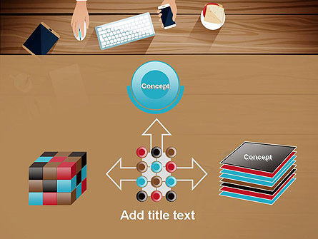 Conference Top View PowerPoint Template Slide 19
