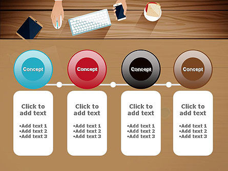 Conference Top View PowerPoint Template Slide 5
