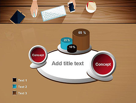 Conference Top View PowerPoint Template Slide 6