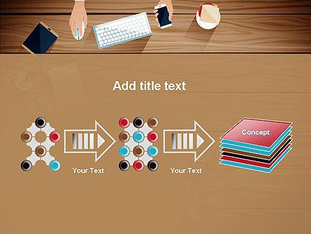 Conference Top View PowerPoint Template Slide 9