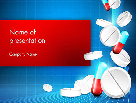 Medical Background PowerPoint Template, 13680, Medical — PoweredTemplate.com