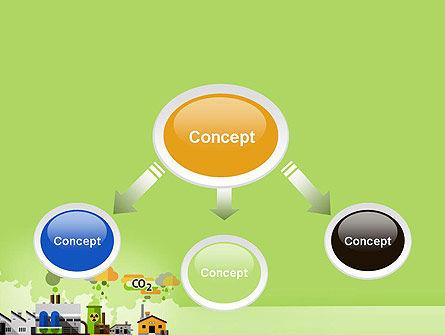 Planet Pollution PowerPoint Template, Slide 4, 13681, Nature & Environment — PoweredTemplate.com