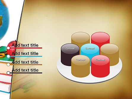 Back to School Supplies PowerPoint Template Slide 12