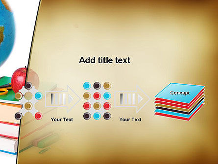 Back to School Supplies PowerPoint Template Slide 9