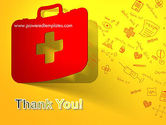 First Aid Box and Medical Supplies PowerPoint Template#20