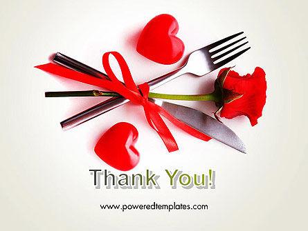Romantic Dinner Invitation PowerPoint Template Slide 20