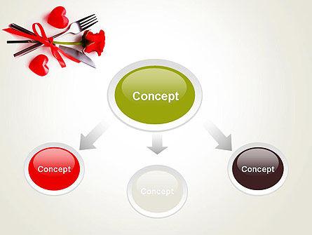 Romantic Dinner Invitation PowerPoint Template Slide 4