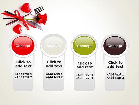 Romantic Dinner Invitation PowerPoint Template Slide 5
