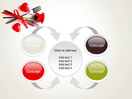 Romantic Dinner Invitation PowerPoint Template Slide 6