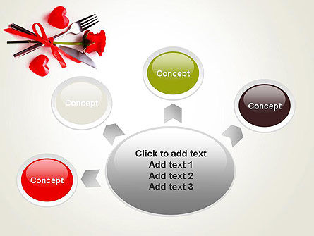 Romantic Dinner Invitation PowerPoint Template Slide 7