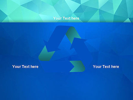 Abstract Azure Polygons PowerPoint Template Slide 10
