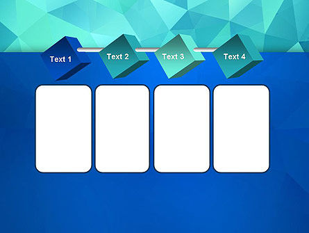 Abstract Azure Polygons PowerPoint Template Slide 18