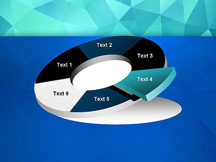 Abstract Azure Polygons PowerPoint Template Slide 19