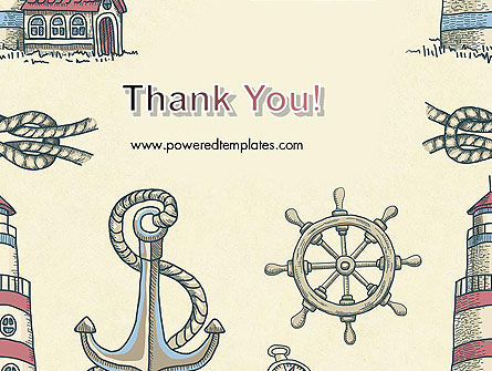 Nautical Vintage PowerPoint Template Slide 20