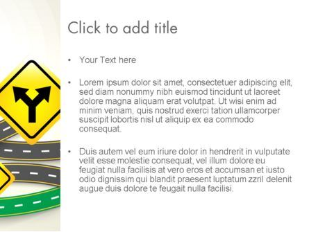 Road Trip PowerPoint Template, Slide 3, 13694, Holiday/Special Occasion — PoweredTemplate.com