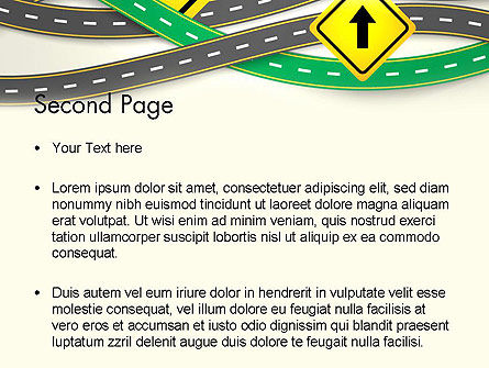 Road Trip PowerPoint Template Slide 2