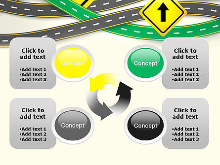 Road Trip PowerPoint Template Slide 9