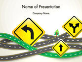 Holiday/Special Occasion: Road Trip PowerPoint Template #13694