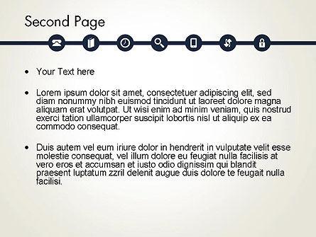 Information Exchange PowerPoint Template, Slide 2, 13702, Telecommunication — PoweredTemplate.com
