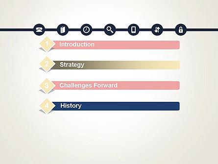 Information Exchange PowerPoint Template, Slide 3, 13702, Telecommunication — PoweredTemplate.com