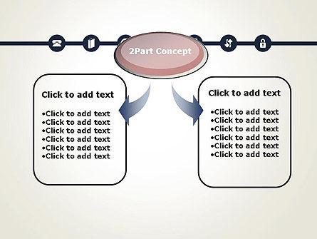 Information Exchange PowerPoint Template, Slide 4, 13702, Telecommunication — PoweredTemplate.com
