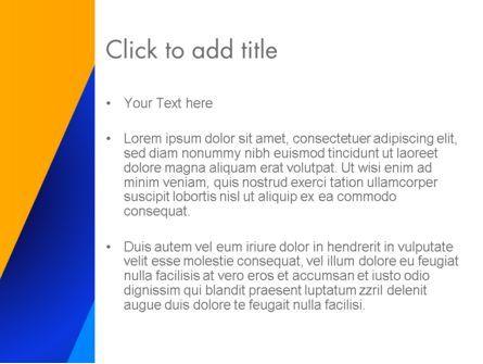 Angular Abstract PowerPoint Template, Slide 3, 13704, Abstract/Textures — PoweredTemplate.com
