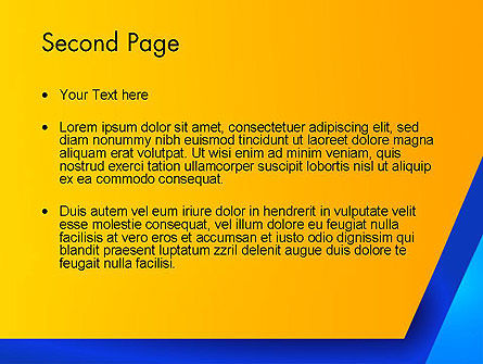 Angular Abstract PowerPoint Template Slide 2