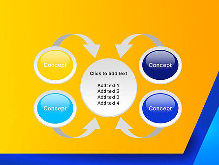 Angular Abstract PowerPoint Template Slide 6