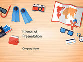 Holiday/Special Occasion: Summer Elements PowerPoint Template #13705