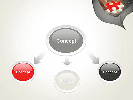 Missing Piece PowerPoint Template, Slide 4, 13707, Business Concepts — PoweredTemplate.com