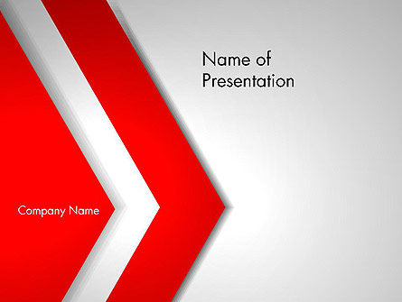 Angle of Large Triangle PowerPoint Template, 13710, Abstract/Textures — PoweredTemplate.com