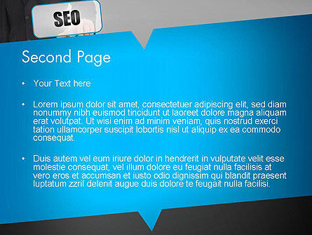 SEO Solution PowerPoint Template, Slide 2, 13714, Careers/Industry — PoweredTemplate.com