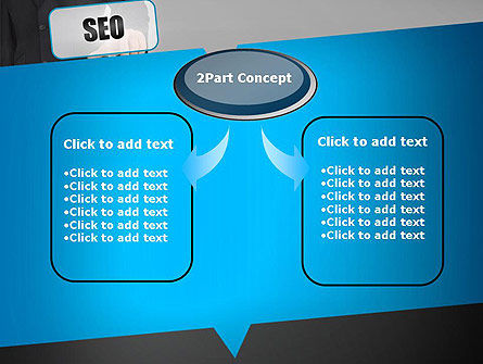 SEO Solution PowerPoint Template, Slide 4, 13714, Careers/Industry — PoweredTemplate.com
