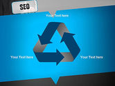 SEO Solution PowerPoint Template#10
