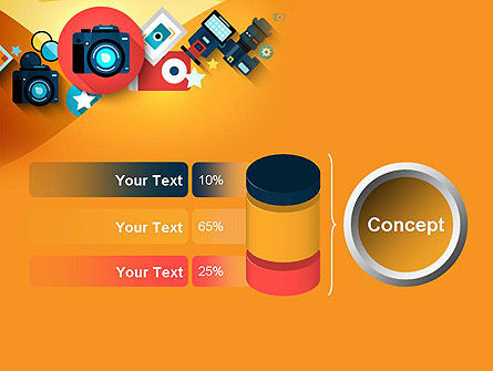 Mirrorless Camera and Equipment PowerPoint Template Slide 11