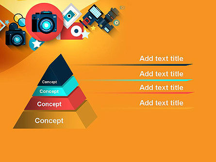 Mirrorless Camera and Equipment PowerPoint Template Slide 12