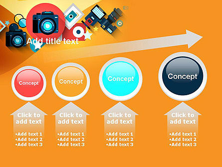 Mirrorless Camera and Equipment PowerPoint Template Slide 13