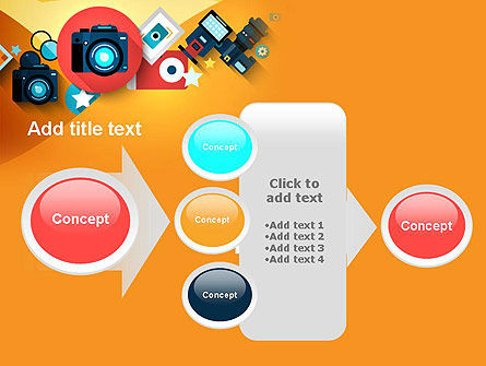Mirrorless Camera and Equipment PowerPoint Template Slide 17