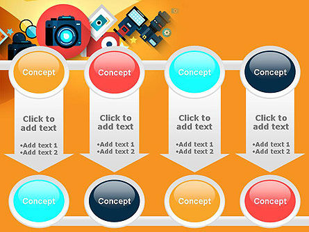 Mirrorless Camera and Equipment PowerPoint Template Slide 18
