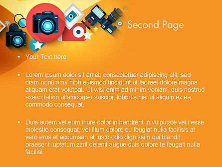 Mirrorless Camera and Equipment PowerPoint Template Slide 2