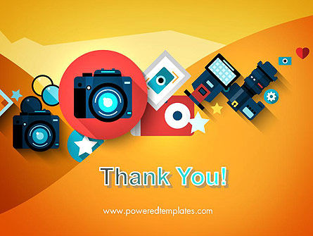 Mirrorless Camera and Equipment PowerPoint Template Slide 20