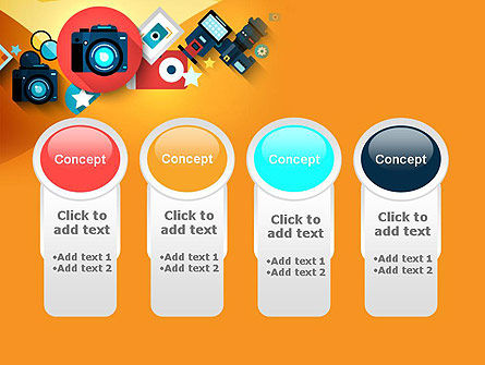 Mirrorless Camera and Equipment PowerPoint Template Slide 5
