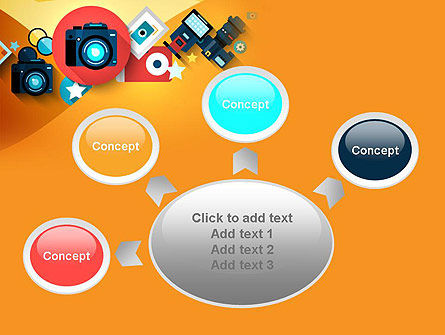 Mirrorless Camera and Equipment PowerPoint Template Slide 7