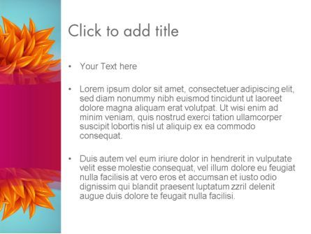 Fall Fantasy PowerPoint Template, Slide 3, 13719, Abstract/Textures — PoweredTemplate.com