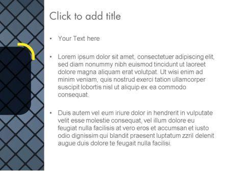 Checkered Metal Surface PowerPoint Template, Slide 3, 13722, Abstract/Textures — PoweredTemplate.com