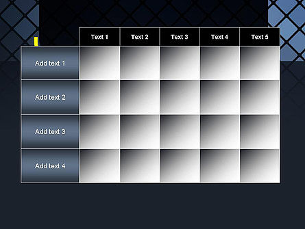 Checkered Metal Surface PowerPoint Template Slide 15