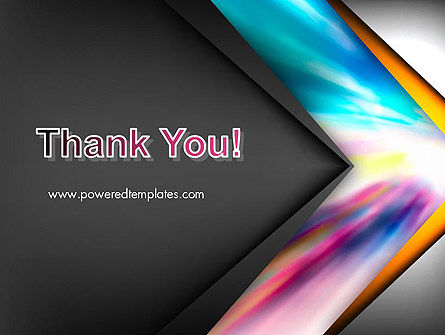 Motion Blur Abstract PowerPoint Template Slide 20
