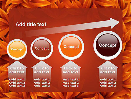 Orange Leaves Frame PowerPoint Template Slide 13