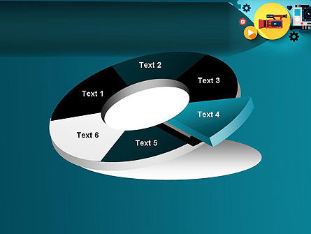 Video Gadgets PowerPoint Template Slide 19