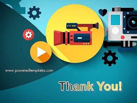 Video Gadgets PowerPoint Template Slide 20